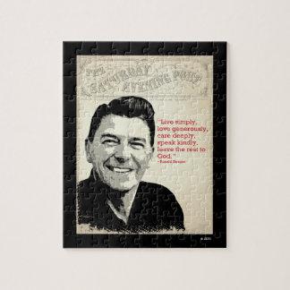 Ronald Reagan Quote Puzzles