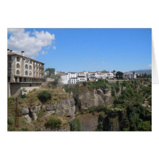 Ronda, Spain - Note card