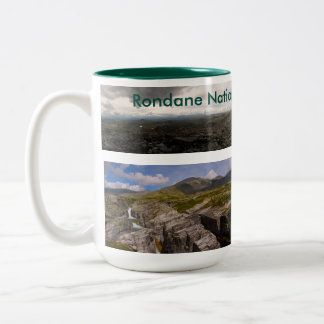 Rondane Norway Two-Tone Coffee Mug