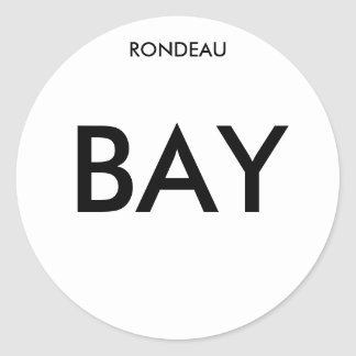 Rondeau Bay Circular Sticker