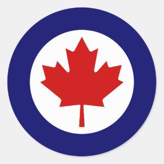 Rondeau canadien adhésifs