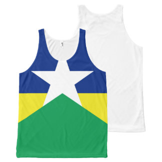 Rondonia flag Brazil region province symbol All-Over-Print Tank Top