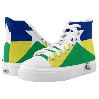 Rondonia flag Brazil region province symbol High Tops