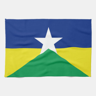 Rondonia flag Brazil region province symbol Kitchen Towel