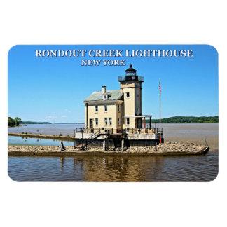 Rondout Creek Lighthouse, New York Rectangular Photo Magnet
