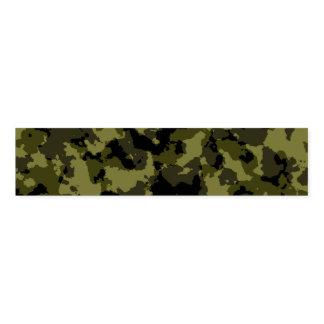 Ronds De Serviette Motif militaire de style de camouflage