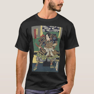 ronin knight japanese ukiyo-e samurai warrior T-Shirt