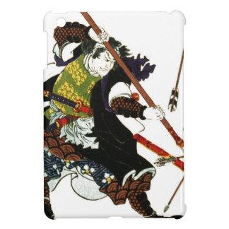 Ronin Samurai Deflecting Arrows Japanese Japan Art iPad Mini Covers