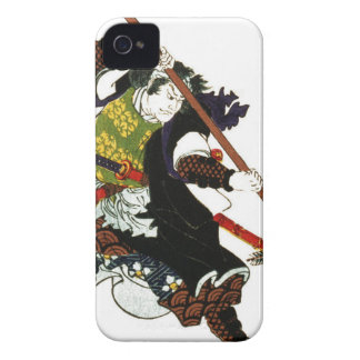 Ronin Samurai Deflecting Arrows Japanese Japan Art iPhone 4 Case-Mate Cases