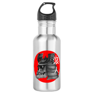 Ronin Samurai Japanese Flag 532 Ml Water Bottle
