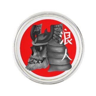 Ronin Samurai Warrior Lapel Pin