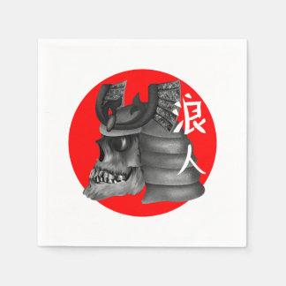 Ronin Samurai Warrior Paper Napkins