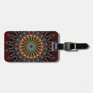 Ronnie Kaleidoscope Luggage Tag