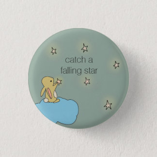 Roo Bunny - Falling Star 1 Inch Round Button