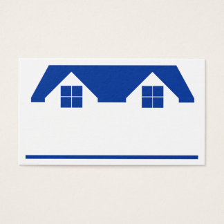 Roof and House Business Card