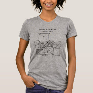 Roof Framing Made Easy Women T-Shirt