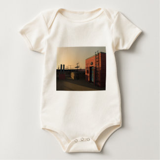 Roof in New York Baby Bodysuit