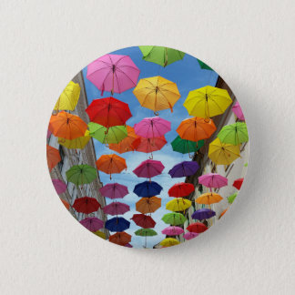 Roof of umbrellas 2 inch round button