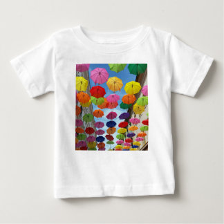 Roof of umbrellas baby T-Shirt