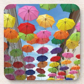Roof of umbrellas coaster