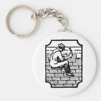 Roofer Keychain