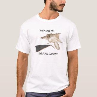 Roofer Tee Shirt Flyin Squirrel
