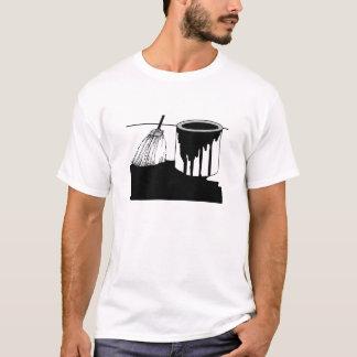 Roofers Tee Shirt Tar Bucket