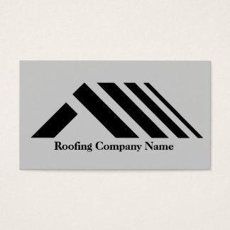Roofing Company Business Card