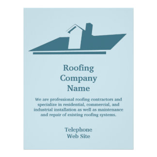 Roofing Promotional Flyers Roofing Promotional Flyer