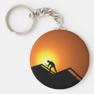 Roofing Keychain