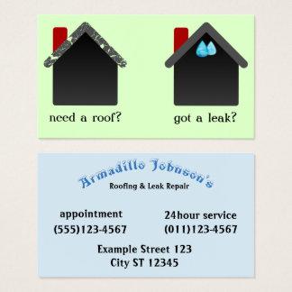 Roofing & Leak Repair Business Card