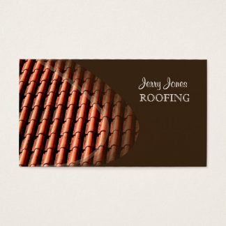Roofing, photo business cards