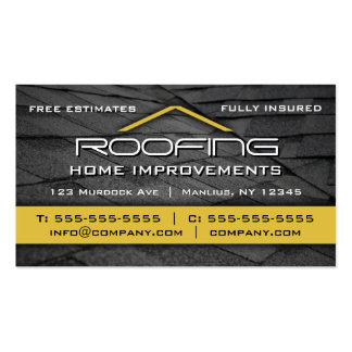 Roofing Business Cards And Business Card Templates