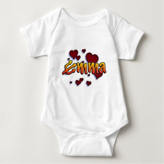 roofridge name Emma with trident e Baby Bodysuit