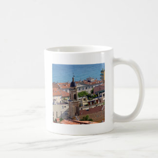 Roofs and Basilica at Menton in France Coffee Mug