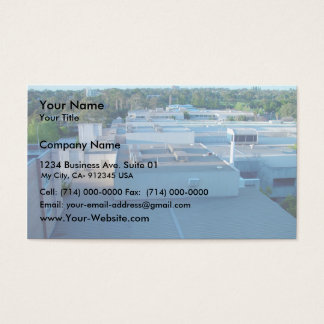 Roofs Of Sir Charles Gairdner Hospital Aka Queen E Business Card