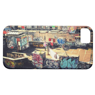 Rooftop Graffiti in Chinatown iPhone 5 Covers