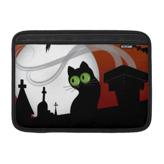 'Rooftop Kitty' Macbook Case