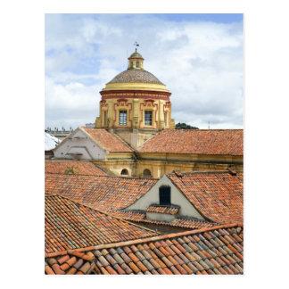 Rooftops in Bogota Postcard