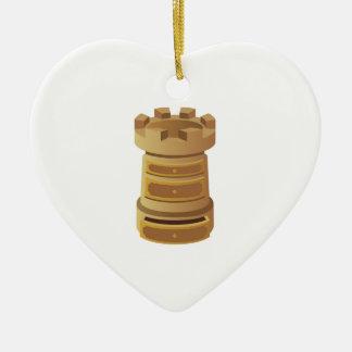 Rook Ceramic Ornament