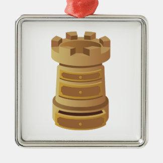 Rook Metal Ornament