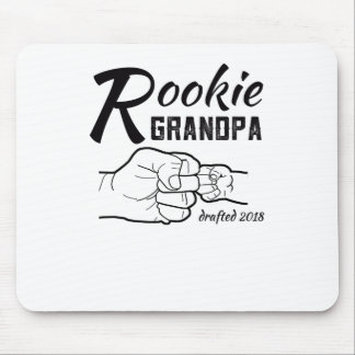 Rookie Grandpa Baby Announcement 2018 Mens Shirt Mouse Pad