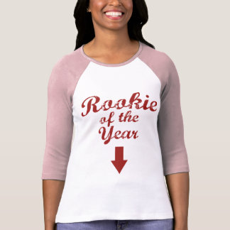 rookie of the year baseball maternity shirt