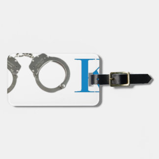 Rookie Police In Training Future Luggage Tag