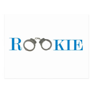 Rookie Police In Training Future Postcard
