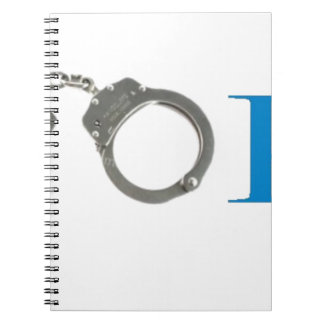 Rookie Police In Training Future Spiral Notebook