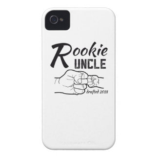 Rookie Uncle Promoted In 2018 Baby Announcement T- Case-Mate iPhone 4 Case