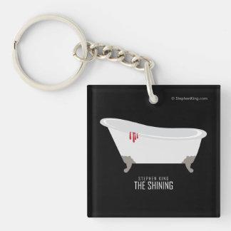 Room 217 Bathtub Keychain