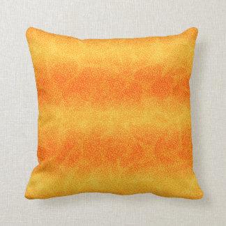 Room Accent Pillow Orange Stripe Pattern
