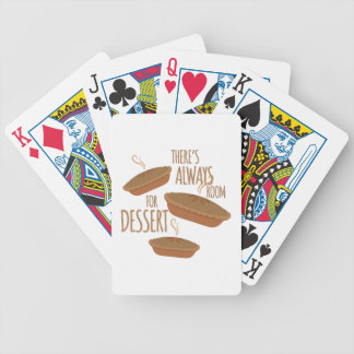 Room For Dessert Bicycle Playing Cards